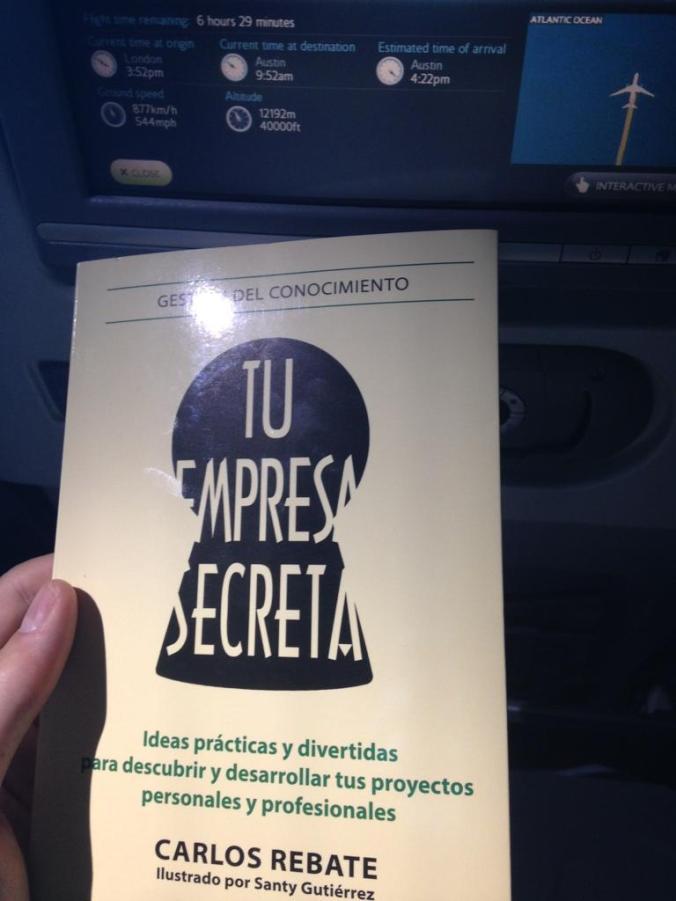 Tu empresa secreta en avión