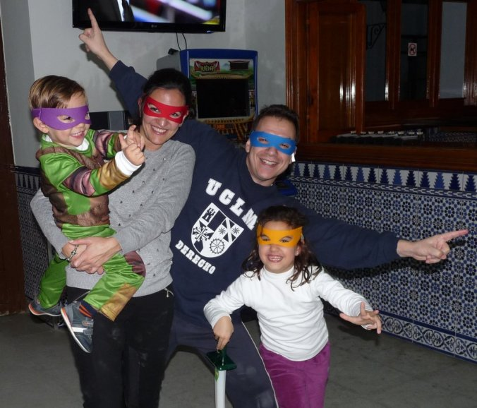 Feliz año nuevo Ninja