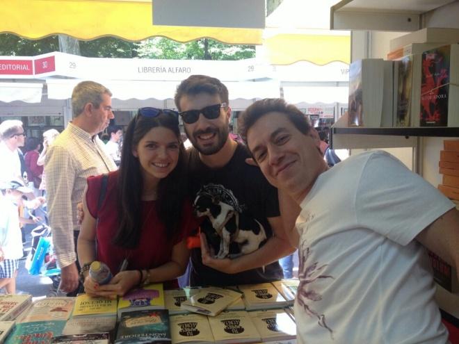 Feria del Libro 2015 con Luis e Irene