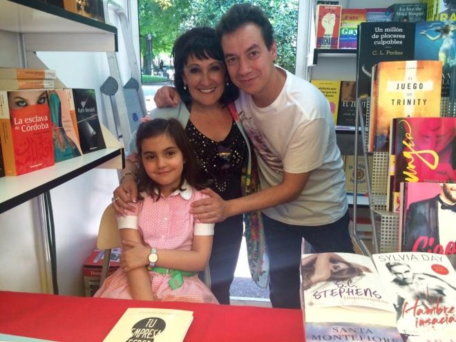 Feria del libro con Ainaga