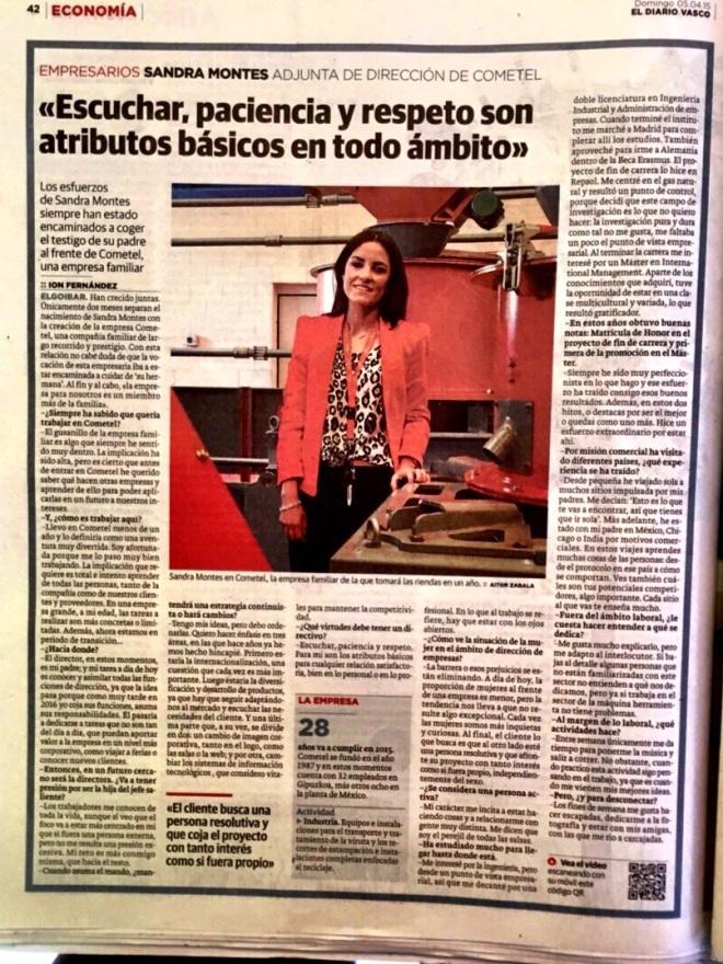 Entrevista a Sandra Montes
