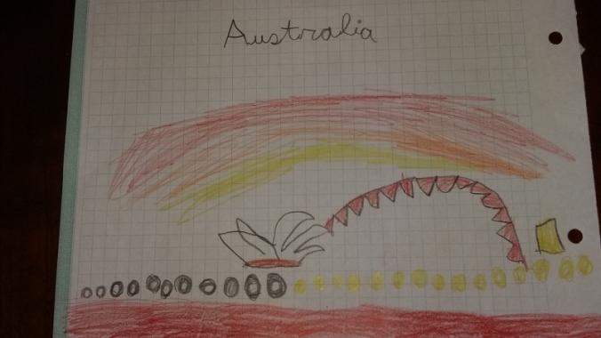Australia por Lucía